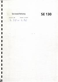 Instrukcja serwisowa ABBGoerz SE130