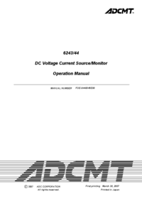 User Manual ADC 6244