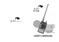 User Manual ADI AF-16
