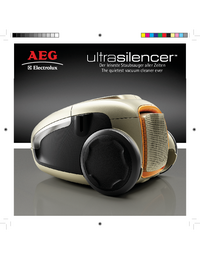 Руководство пользователя AEG ultrasilencer