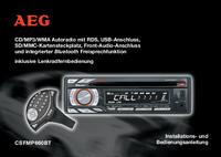 Manuel de l'utilisateur AEG CSFMP660BT
