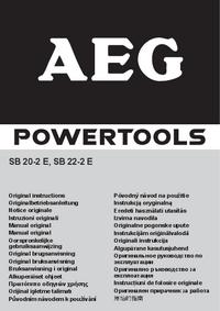 Instrukcja obsługi AEG SB 22-2 E