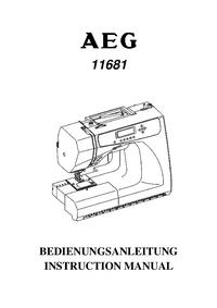 Руководство пользователя AEG 11681
