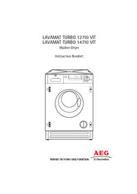 User Manual AEG LAVAMAT TURBO 12710 VIT