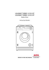 Gebruikershandleiding AEG LAVAMAT TURBO 14710 VIT