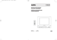 User Manual AEG CTV 4807 DVD