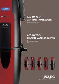 Manual do Usuário AEG OXYGEN