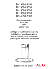 User Manual AEG HC 3360