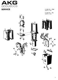 Manual de servicio AKG C 414 B TL