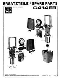 Руководство по техническому обслуживанию AKG C414EB