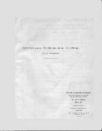 Serviço e Manual do Usuário AME 7G-1680