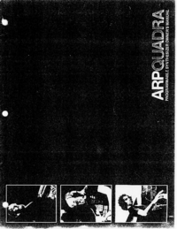 User Manual ARP Quadra