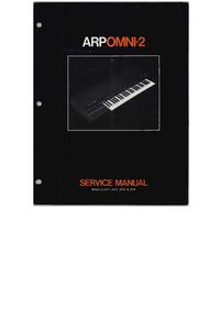 Manual de servicio ARP Onmi-2 2474
