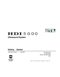 Manual del usuario ATL HDI 5000