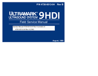 Manual de servicio ATL Ultramark 9HDI