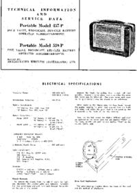 Manual de servicio AWA 457-P