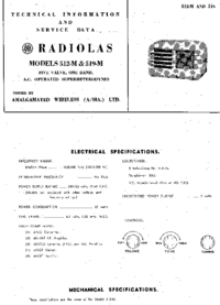 Service and User Manual AWA RADIOLAS 519-M