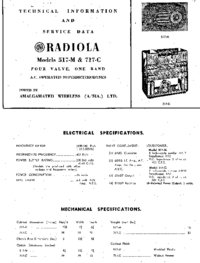 Instrukcja serwisowa AWA RADIOLA 717-C