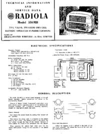 Manual de servicio AWA RADIOLA 534-MB