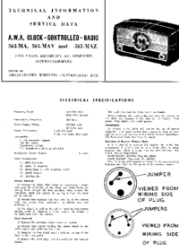 Service and User Manual AWA 563-MAZ