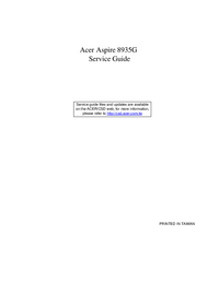 Service Manual Acer Aspire 8935G