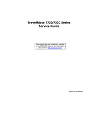 Service Manual Acer TravelMate 7720 Series