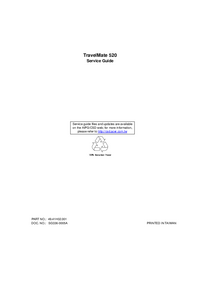 Service Manual Acer TravelMate 520