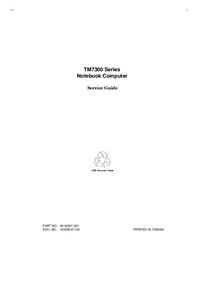 Instrukcja serwisowa Acer TM7300 Series