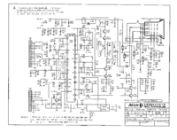Service Manual, cirquit diagram only Acer Acerview 7154E