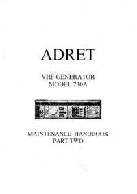 Adret-3812-Manual-Page-1-Picture