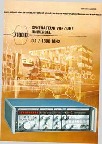 Datasheet Adret 7100 D