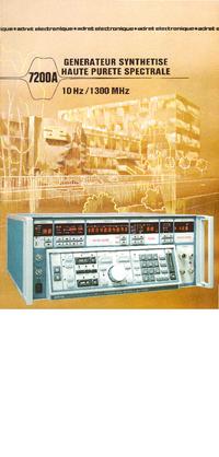 Instrukcja obsługi Adret 7200A