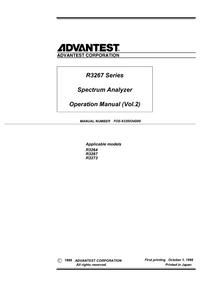 Advantest-5734-Manual-Page-1-Picture