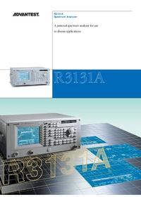 Datasheet Advantest R3131A