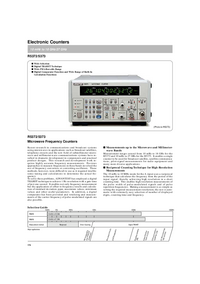 Datenblatt Advantest R5372