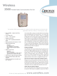 Hoja de datos Aeroflex 3500