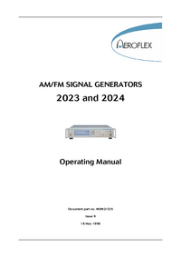 Manual del usuario Aeroflex 2023
