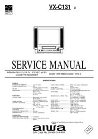 Service Manual Aiwa VX-C131 U