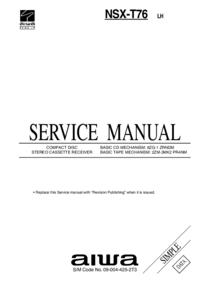 Service Manual Aiwa NSX-T76 LH