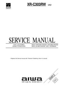 Service Manual Aiwa XR-C303RW LH