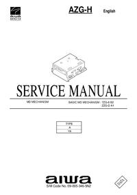 Manual de serviço Aiwa AZG-H YA
