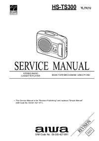 Service Manual Aiwa HS-TS300 YL