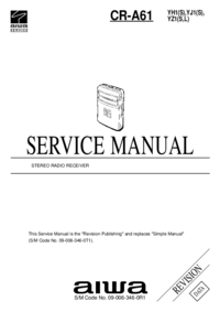 Manual de servicio Aiwa CR-A61 YH1(S)