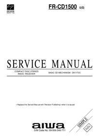 manuel de réparation Aiwa FR-CD1500 U(S)