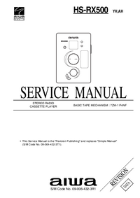 Service Manual Aiwa HS-RX500 AH