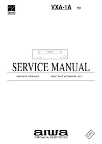 manuel de réparation Aiwa VXA-1A YU