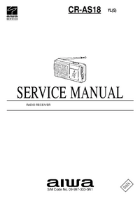 Service Manual Aiwa CR-AS18 YL(S