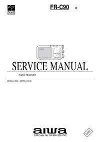 manuel de réparation Aiwa FR-C90 D