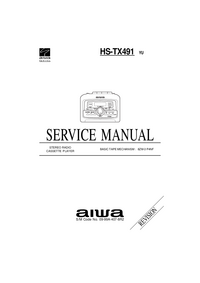 Servicehandboek Aiwa HS-TX491 YU
