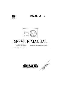 Service Manual Aiwa HS-JS790 D